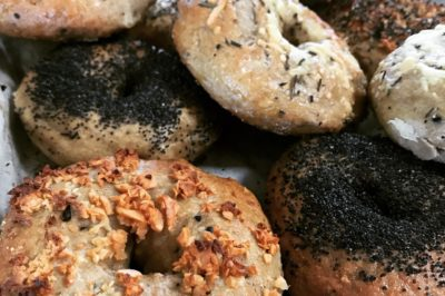 Totally Seeded Wholesome Bagels